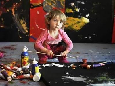 Художник-абстракционист Аэлита Андре. Чудо-ребенок или чудесная афера?