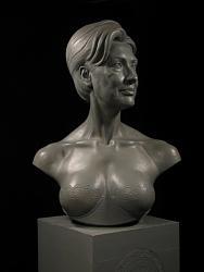 Нажмите на изображение для увеличения.  Название:edwards bust_of_hillary_rodham_clinton_sculpture.jpg Просмотров:225 Размер:32.2 Кб ID:17969