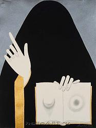 Нажмите на изображение для увеличения.  Название:1_From the series _Persian Miniatures_2008_Watercolor, acrylic and pensil on paper_54,7x41,6 cm .jpg Просмотров:213 Размер:103.8 Кб ID:30659