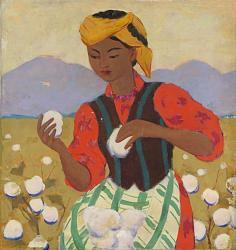 Нажмите на изображение для увеличения.  Название:Н.Кашина. Колхозные заботы. Триптих. 1963. Холст,энкаустика.84х80.jpg Просмотров:104 Размер:85.6 Кб ID:34313