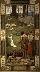 Нажмите на изображение для увеличения.  Название:St. Geneviиve als kind in gebed.jpeg Просмотров:290 Размер:106.7 Кб ID:5727