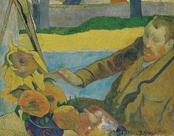 Нажмите на изображение для увеличения.  Название:Portret van Van Gogh, zonnebloemen schilderend.jpeg Просмотров:300 Размер:41.8 Кб ID:5739