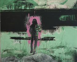 Нажмите на изображение для увеличения.  Название:В.Мигачёв. Вниз. Из серии Пейзаж для одинокого человека. 2014. Холст,см.т.140х170.jpg Просмотров:164 Размер:132.1 Кб ID:34206