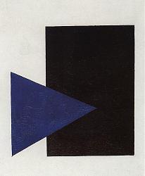 Нажмите на изображение для увеличения.  Название:Живопись_Казимир-Малевич_Супрематизм-с-синим-треугольником-и-черным-треугольником.jpg Просмотров:96 Размер:106.3 Кб ID:34031