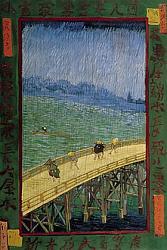 Нажмите на изображение для увеличения.  Название:VG De brug in de regen (naar Hiroshige).jpeg Просмотров:255 Размер:58.5 Кб ID:6206