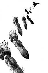 Нажмите на изображение для увеличения.  Название:World Press Cartoon Sintra 2012 Statue of Liberty torches bombing by Ares or Aristides Hernandez.jpg Просмотров:166 Размер:20.6 Кб ID:27455