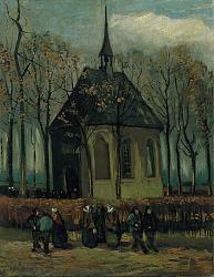 Нажмите на изображение для увеличения.  Название:VG Het uitgaan van de Hervormde Kerk te Nuenen.jpeg Просмотров:382 Размер:224.3 Кб ID:5766