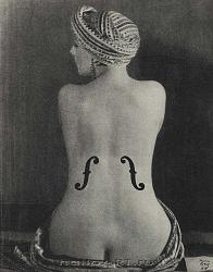 Нажмите на изображение для увеличения.  Название:Le Violon d'Ingres (Kiki de Montparnasse)1924 copy.jpg Просмотров:728 Размер:181.1 Кб ID:32322