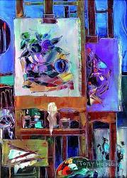 Нажмите на изображение для увеличения.  Название:Tony AGOSTINI (1916-1990) Les chevalets.jpg Просмотров:198 Размер:63.6 Кб ID:6399