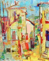 Нажмите на изображение для увеличения.  Название:Jean-Jacques MORVAN (1928-2005)Village de Provence,1958.jpg Просмотров:198 Размер:71.4 Кб ID:6402