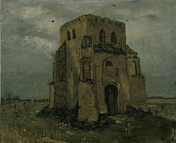 Нажмите на изображение для увеличения.  Название:VG De oude kerktoren te Nuenen ('Het boerenkerkhof').jpg Просмотров:235 Размер:68.7 Кб ID:6162