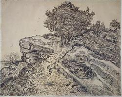Нажмите на изображение для увеличения.  Название:vg De rots van Montmajour met pijnbomen.jpeg Просмотров:256 Размер:59.1 Кб ID:6211