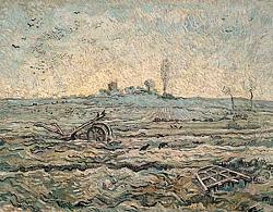 Нажмите на изображение для увеличения.  Название:VG Ondergesneeuwd veld met een eg (naar Millet).jpeg Просмотров:201 Размер:91.6 Кб ID:5998