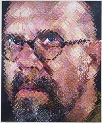 Нажмите на изображение для увеличения.  Название:fotorealism chuck close self portrait.jpg Просмотров:226 Размер:75.5 Кб ID:12920