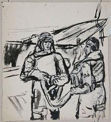 Нажмите на изображение для увеличения.  Название:Н.Удальцова. 1942. Бум.,тушь.26х24. Из коллекции Д.Матвеева.jpg Просмотров:135 Размер:97.6 Кб ID:33902